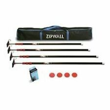 NEW ZIPWALL ZP4 4PK ZIP POLE 10 FOOT SPRING LOADED POLES FOR PLASTIC QUALITY