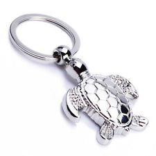 Creative Simulation Metal Sea Turtle Key Ring Keyring Keychain Pendant Gift 1pc