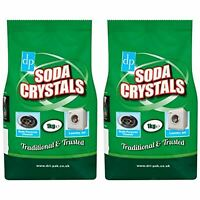 2Kg Soda Crystals MultiPurpose Cleaner Washing Laundry Unblocking Sink Drain