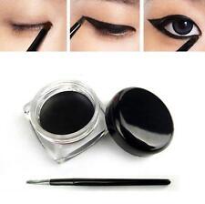 2017 Black Beauty Cosmetic Waterproof Eye Liner Eyeliner Shadow Gel Makeup+Brush