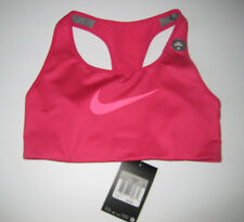 Nike XS Sports Bra Pink Cool Rose Training High Support New NWT 548434 MSRP $42
