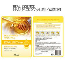 Jluna Korean Cosmetics Natural Plant Essences Face Mask Pack 1PC Royal Jelly