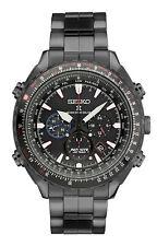 Seiko Prospex SSG007 Men's Ltd Black IP Patriots Jet Team Solar Radio Syn Watch