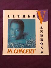 Vintage 1988 Luther Vandross Concert Tour Program Guide-Paul Simon-Soul/R&B/Pop