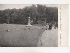 Anvers Statue La Muse De J Van Beers Dans Le Parc Belgium U/B Postcard 356b