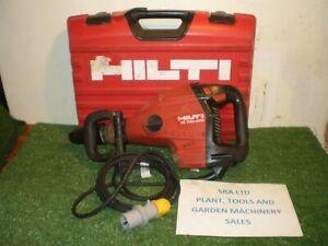 HILTI TE700 AVR 110 VOLT MEDIUM BREAKER SDS MAX CHUCK CASE VAT INCLUDED SRA6