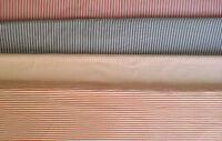 Baumwollstoff (€8,60/m²) 0,5m gestreift 1+3 mm Streifen 1,5m breit