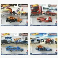 Hot Wheels 2021 Car Culture Team Transport Case L Set of 4 Trucks FLF56-956L