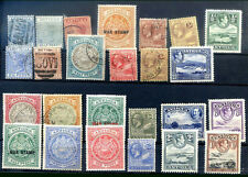 BRITISH ANTIGUA 25 different old Stamps MH - USED