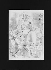 Art Masterpiece - Bookplate/Lithograph - The General by GEORGE GROSZ