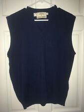 John Deere Navy Blue Sweater Vest, XL