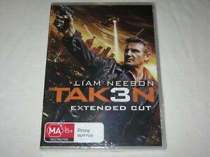 Taken 3 - Tak3n - Extended Cut - Brand New & Sealed - Region 4 - DVD