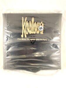 Koslows Fur Travel Garnent Cover Bag Zipper Handles Foldable 54in NOS