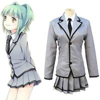 Assassination Classroom JK School Uniform Cosplay Costume Halloween Kayano Rinka