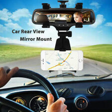 Auto Car Rearview Mirror Mount Stand Holder Cradle For Cell Phones MP4/3 GPS PDA