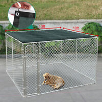Outdoor Dog Cage Cover Pet House Sun Shade Kennel Covers - UV - Free Shipping