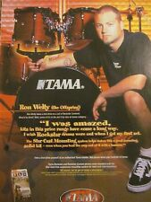 Offspring, Ron Welty, Tama Drums, Full Page Promotional Ad