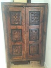 More details for large carved indian cupboard