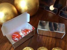 Luxury Silver Truffle Boxes - Weddings - Special Occasions - Favours / Sweets