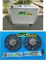 3core Holden Kingwood HG HT HK HQ HJ HX V8 Manual MT Aluminium Radiator + FAN
