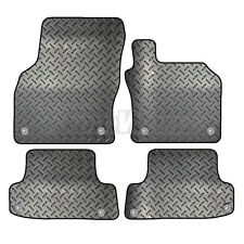 Audi A3 S3 RS3 2016 to 2018 (8V) Tailored 4 Piece Rubber Car Mat Set 8 Clips