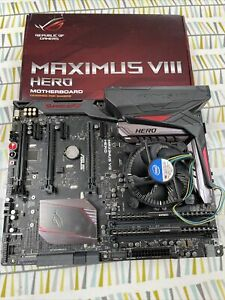 ASUS Maximus VIII + Intel core i7 6700k + Corsair Vengeance LPX 16GB (2x8GB)
