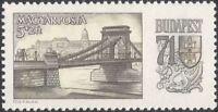 Hungary 1969 StampEx/Bridges/Architecture/Transport/River Danube 1v (n45446)