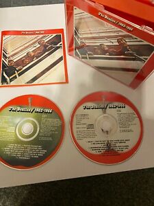 The Beatles 2 x CD Remastered 1962/1966 Original Red Fat Box + Booklet *EXC*
