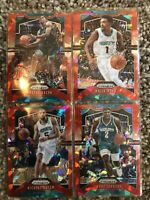 2020 NBA Panini Prizm Red Cracked Ice HORNETS 4 Card Lot (See Pictures)