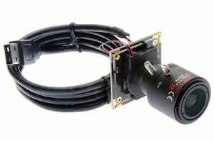 CMOS AR0130 USB Camera Module 960P Low Illumination 2.8mm-12mm Varifocal Lens