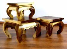 Kleiner Opiumtisch, Beistelltisch, Couchtisch, Suarholz, Asia Möbel (Handarbeit)
