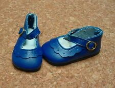 Doll Shoes, 64mm NAVY Classic Ankle Straps fit MSD, BJDs, Kish 4 seasons