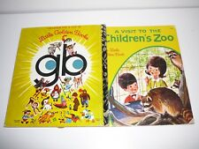 A visit to the Children's Zoo Little Golden Book 400 HC 1973
