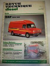 DAF Série 400 - Revue Technique Diesel