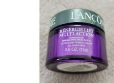 Lancome Renergie Lift Multi Action Sunscreen SPF15 Lifting & Firming Cream 0.5oz