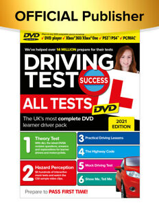 Driving Test Success All Tests DVD 2021 Edition (DVD Interactive Disks)
