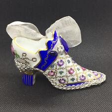 Authentic Limited Edition Limoges Shoe Trinket Box - Mint Cond.