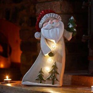 Alpine Santa Light Up Cheerful Christmas Decoration Warm White LEDs