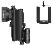 Olloclip CORE LENS Kit Fisheye, Macro, Wide Angle Lens Kit For iPhone 7 / 7 Plus