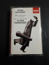 Beethoven Violin Concerto Nigel Kennedy Klaus Tennstedt Cassette Tape EMI Clasic