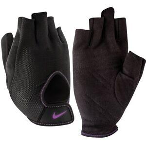 Nike Damen Grundlegend Training Crossfit Handschuhe Gewichtheben Dri - Fit Groß