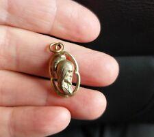 Vintage Gold jesus pendant V20-12K G.F. religious jewelry necklace