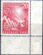 BUND 112 ** 1, Bundestag, postfrisch geprüft Schlegel