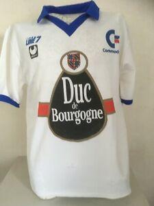 Maillot vintage AJ Auxerre Duc de Bourgogne Commodore saison 90-91 Uhlsport