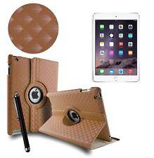 3d Diamond piel giratoria soporte Funda Folio Para Todas Apple iPad