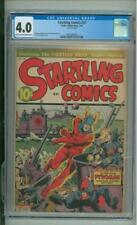 Startling Comics  #27 CGC 4.0 Pyroman War Cover 1944