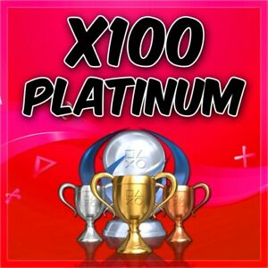 ✅ Playstation x100 Platinum Trophy Service PSN/PS3/PS4/Vita ✅