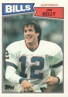 1987 Topps Jim Kelly Buffalo Bills #362 Football Card Rookie