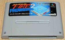Super Famicom: Super Fire Prowrestling 2