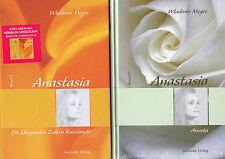 9 x ANASTASIA Bücher Teile 2-10 - Wladimir Megre - Gebundene Ausgaben NEU